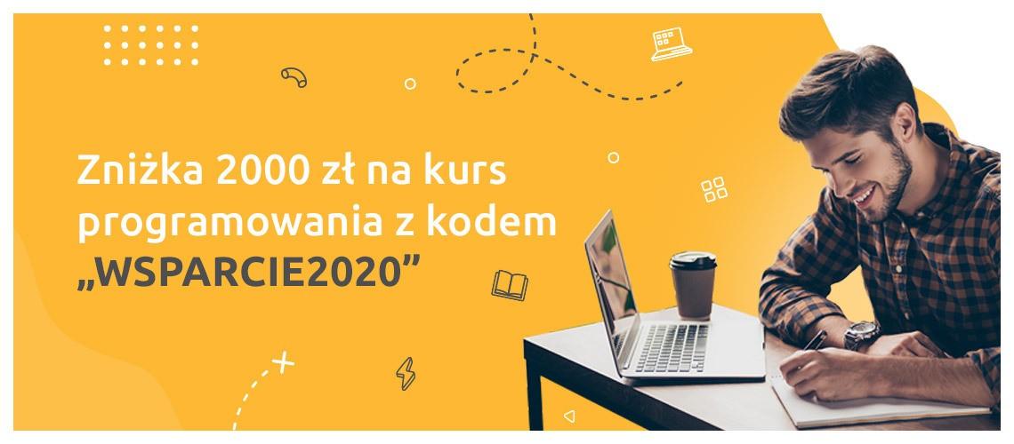 Skorzystaj z rabatu -2000 zł na kursy programowania! >>